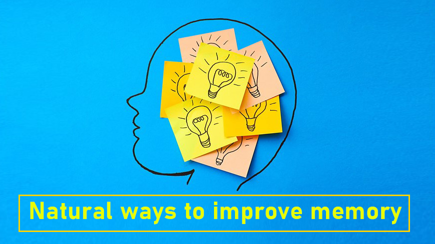 natural ways to improve memory