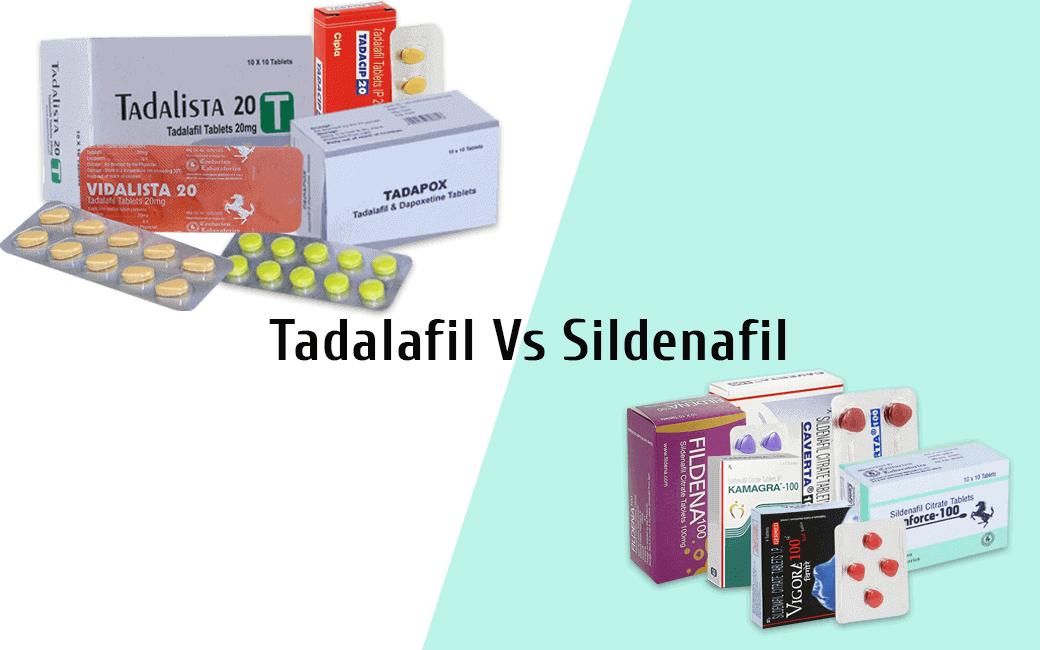 sildenafil vs tadalafil